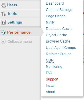 w3-total-cache-menu